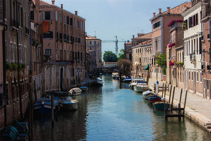 Venice Past and Modern Itinerary (en inglés)